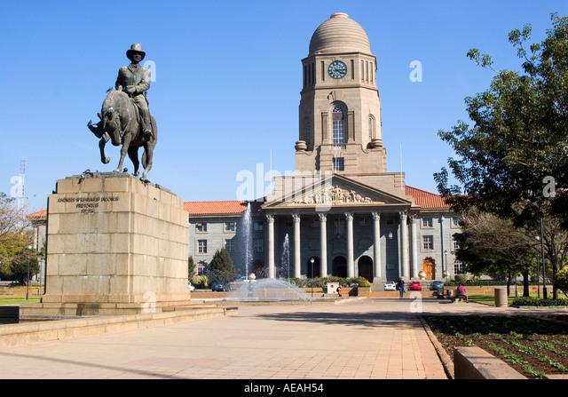Pretoria city Hall - Stock Image