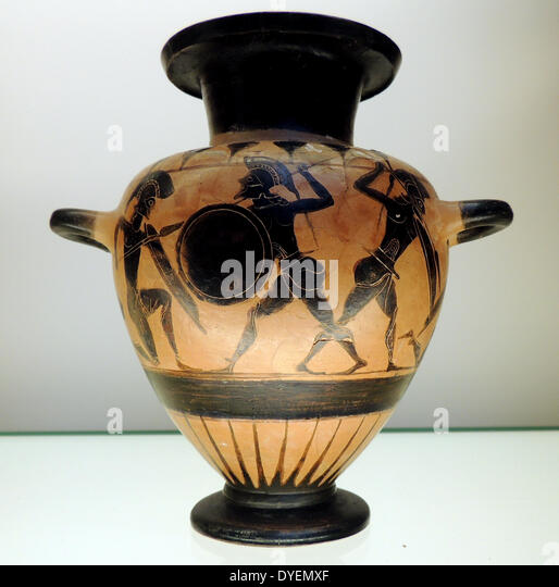 Ancient greek pottery stock photos ancient greek pottery for Ancient greek pottery decoration