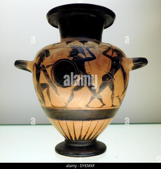 Ancient greek pottery stock photos ancient greek pottery for Ancient greek pottery decoration