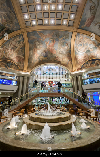 Galerias Pacifico shopping mall. Buenos Aires. Argentina - Stock Image