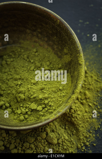 Matcha tea - Stock Image