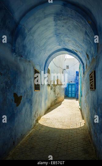 Tunisia, Kairouan, old houses of the Medina - Stock Image