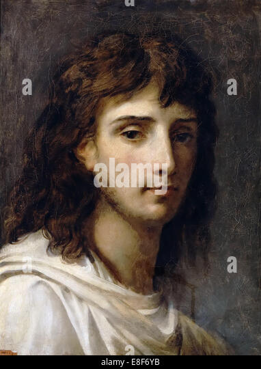 Self-Portrait. Artist: Gros, Antoine Jean, Baron (1771-1835) - Stock Image