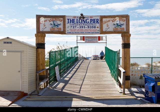 Florida fishing pier stock photos florida fishing pier for Gulf shores fishing pier