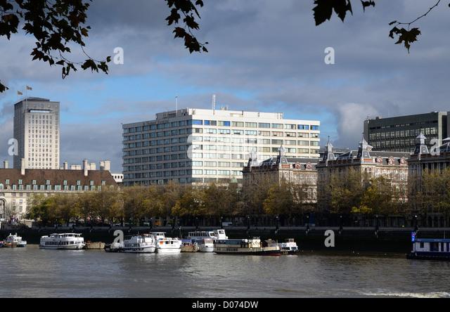 St .Thomas' Hospital Lambeth London - Stock Image