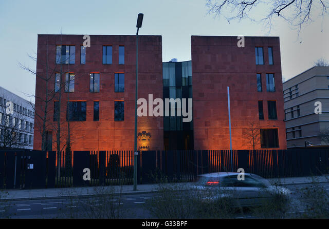 Botschaft Indien,Tiergartenstrasse, Tiergarten, Berlin, Deutschland - Stock-Bilder