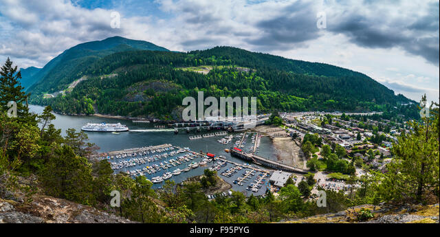 Horse Shoe Bay, British Columbia, Canada - Stock Image