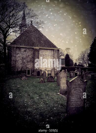 Ancient Dutch cemetery early 1800 founded by Louis Napoléon Bonaparte (2 September 1778 ? 25 July 1846), King - Stock-Bilder