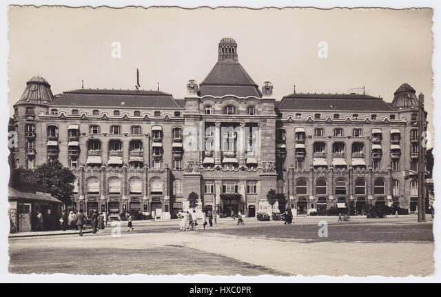 Hotel Gellert, Budapest, Hungary - Stock Image