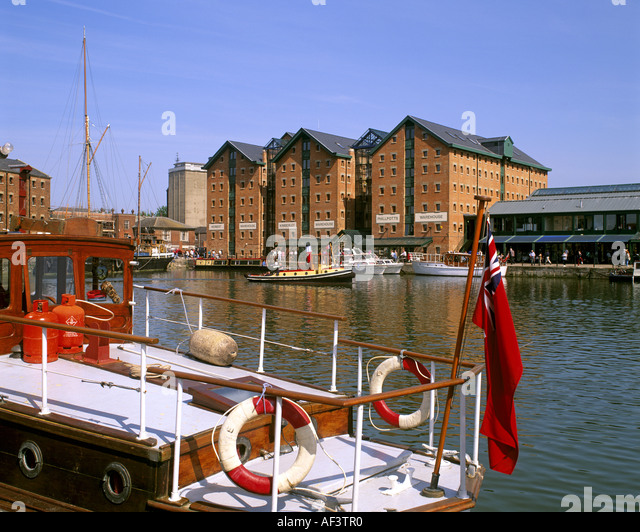 GB - GLOUCESTERSHIRE:  Historic Gloucester Docks - Stock-Bilder