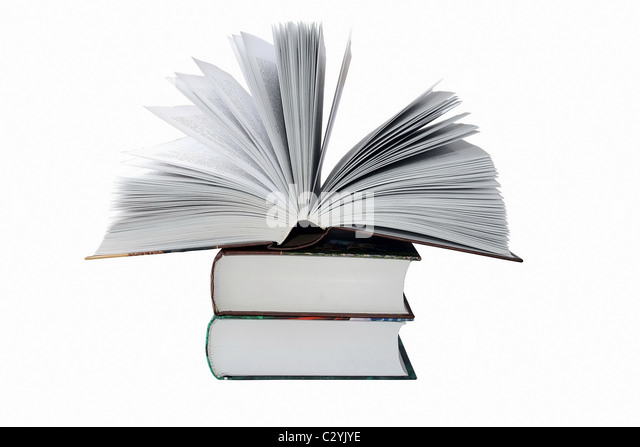Big Books - Stock Image