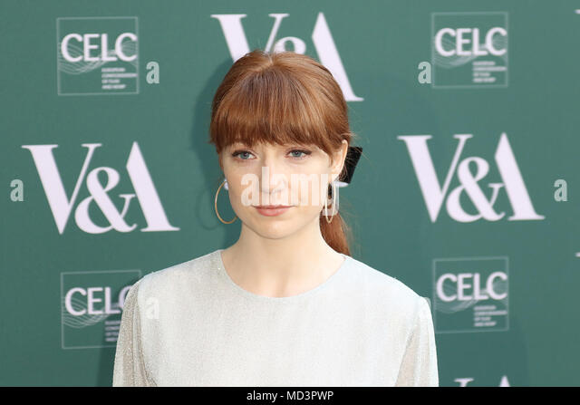 London, UK. 18th Apr, 2018. Nicola Roberts, Fashioned from Nature - VIP Preview, Victoria and Albert Museum, London UK, 18 April 2018, Photo by Richard Goldschmidt Credit: Rich Gold/Alamy Live News - Stock Image