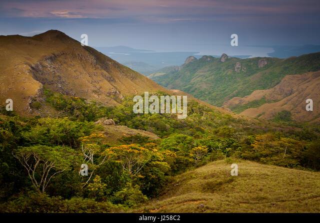 Evening in Altos de Campana National Park, Republic of Panama, - Stock-Bilder