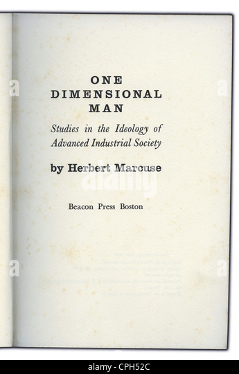 one dimensional man by herbert marcuse Start studying one dimensional man-herbert marcuse learn vocabulary, terms, and more with flashcards, games, and other study tools.