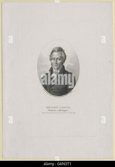Gaillon, Benjamin - Stock Image