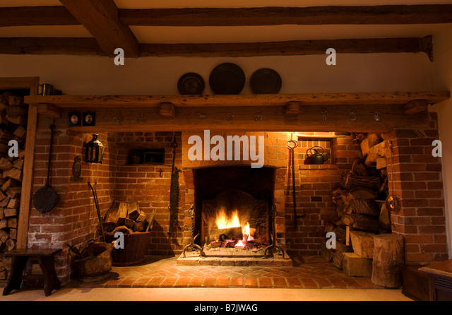 Inglenook Fireplace Stock Photos Amp Inglenook Fireplace