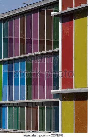 Coloured glass panels stock photos coloured glass panels for Coloured glass panels