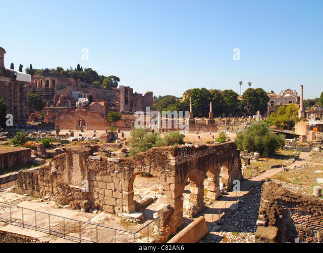 The Forum, Rome, Italy, Europe - Stock Image