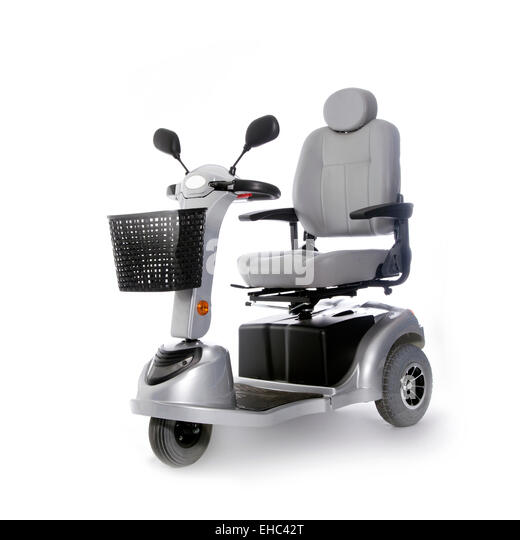 Elderly Transportation: Mobility Scooter Wheel Stock Photos & Mobility Scooter