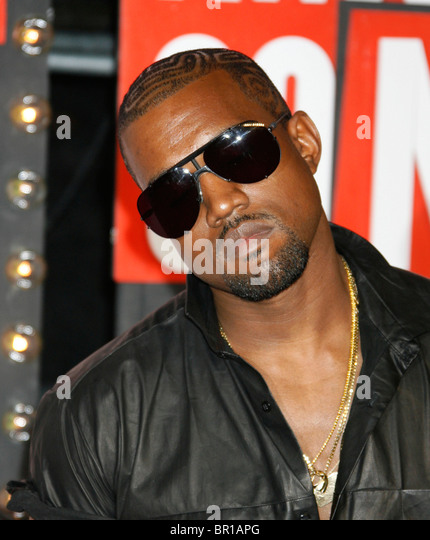 KAYNE WEST - US singer in November 2009. Photo Jeffrey Mayer - Stock Image