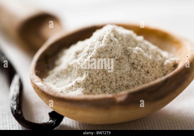 vanilla sugar - Stock-Bilder