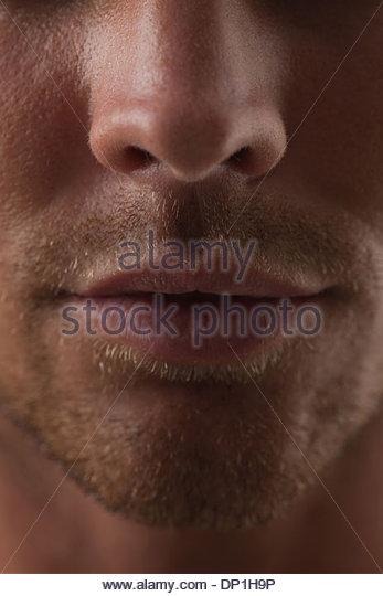 Portrait of man - Stock-Bilder