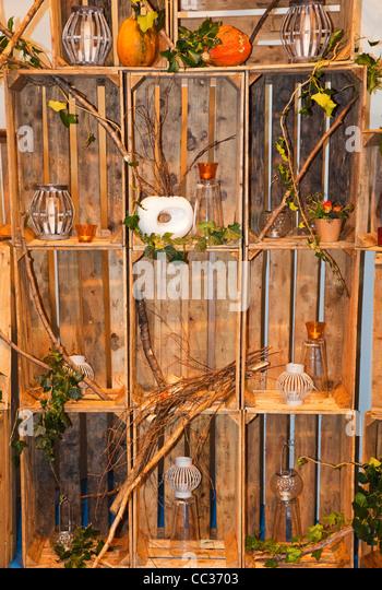 Autumnal Artistic Display - Stock-Bilder