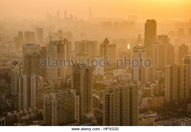 City skylines - Stock Image
