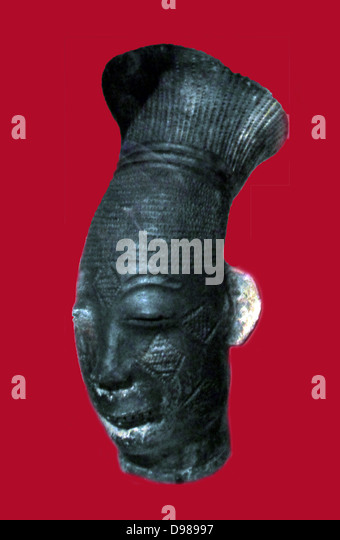 Twentieth century Tribal headdress from Zambia in Southern Africa - Stock Image