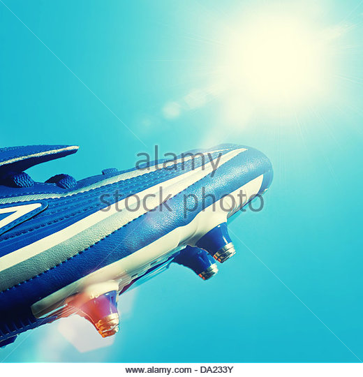 football sunshine - Stock Image