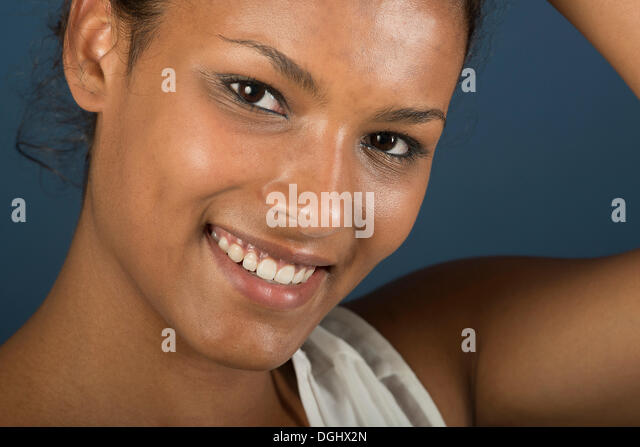 Tuareg girl, Targia, Algeria, North Africa, Africa - Stock Image