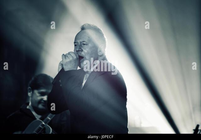 Jim Kerr, Simple Minds live in Concert, Hamburg, Germany - Stock-Bilder