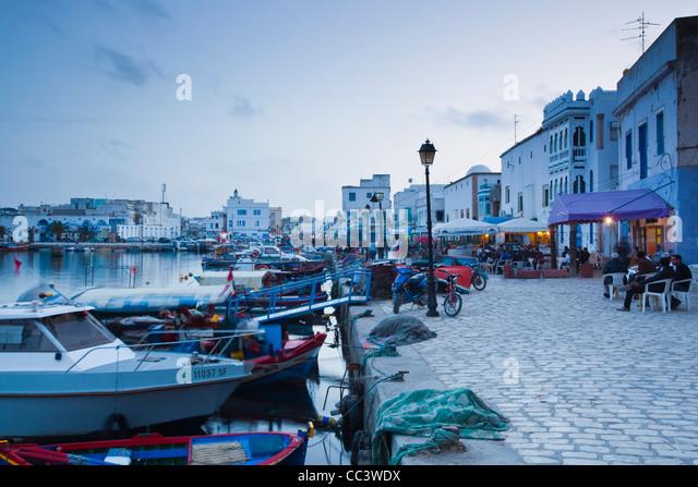 Tunisia, Northern Tunisia, Bizerte, Old Port - Stock Image