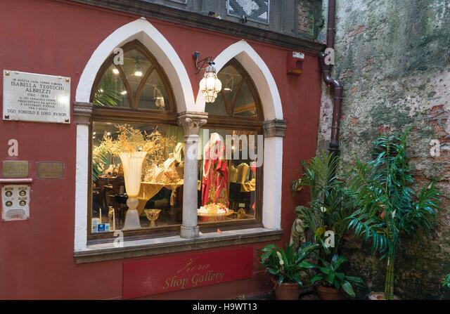 Fashion shop, Venedig, Venezia, Venice, Italia, Europe,     Venedig, Venezia, Venice, Italia, Europe, - Stock Image