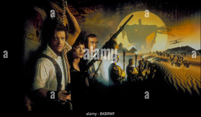 Movie Posters 1999: The Mummy Movie 1999 Stock Photos & The Mummy Movie 1999