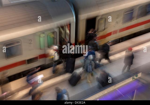 intercity - Stock-Bilder