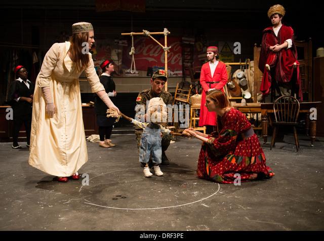 Experimental theatre scene study