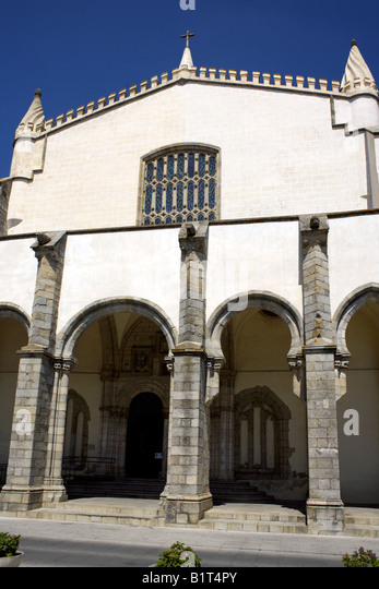 Church of St Francis Igreja de São Francisco, Évora, Alentejo region, Portugal - Stock Image
