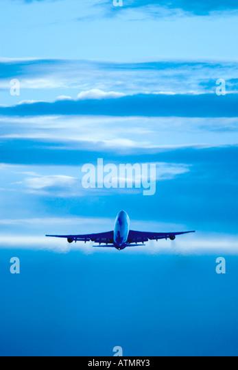 Airliner jet plane - Stock Image