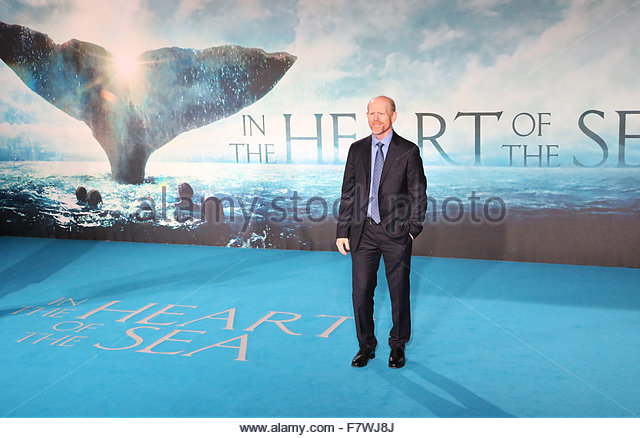 London, United Kingdom. December 2nd, 2015. UNITED KINGDOM, London: American director Ron Howard poses for photographers - Stock Image