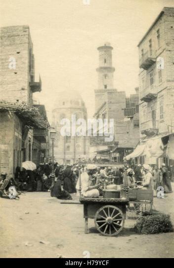 Aqsunqur Mosque, Cairo, Egypt - Stock Image