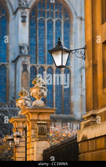 UK, England, Cambridgeshire, Cambridge, Trinity Lane, King's College Chapel - Stock-Bilder
