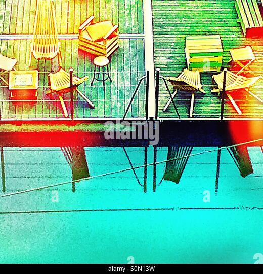 Floating terrace - Stock-Bilder