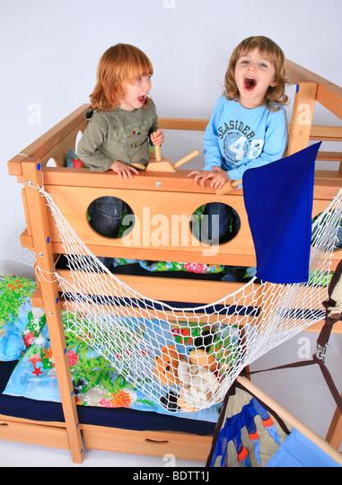 top bunk stock photos top bunk stock images alamy. Black Bedroom Furniture Sets. Home Design Ideas