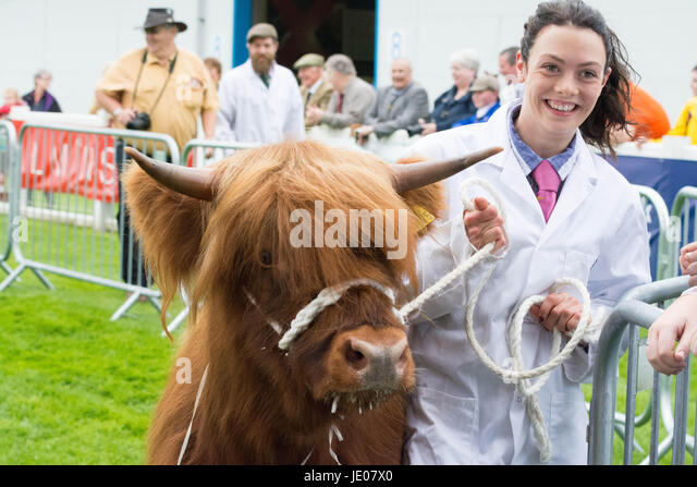 Royal Highland Show 2017, Edinburgh, Scotland, UK - Stock Image