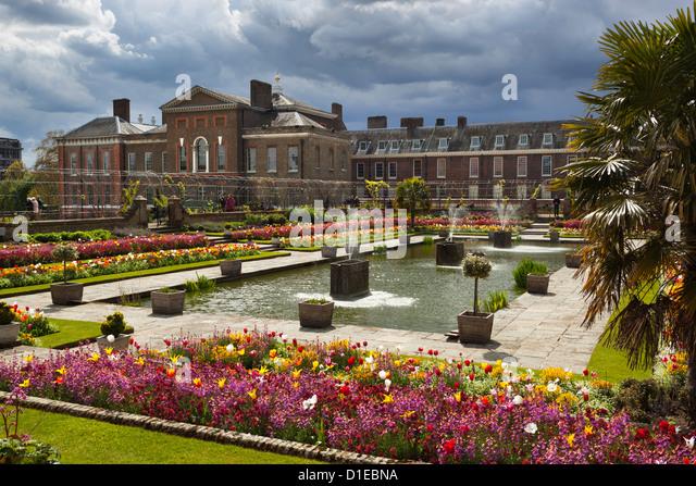 Kensington Palace and Gardens, London, England, United Kingdom, Europe - Stock Image