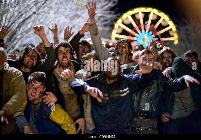 ZOMBIES ZOMBIELAND (2009) - Stock Image