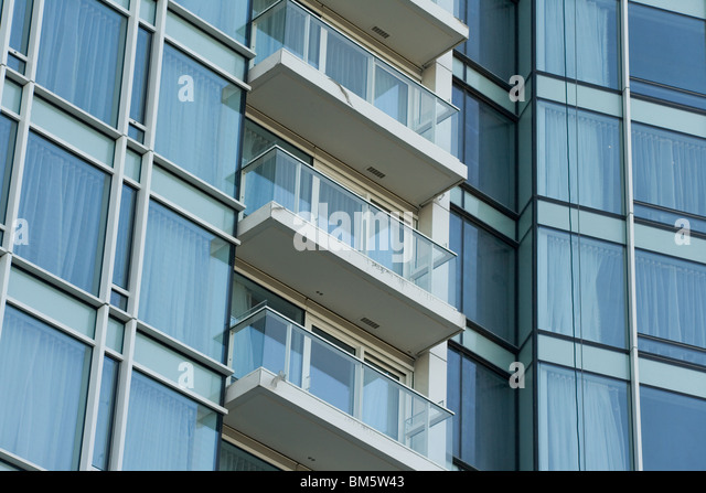 building close up for background - Stock Image