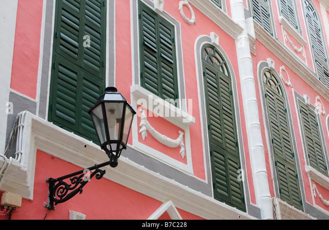 Portugese Architecture, Macau - Stock Image