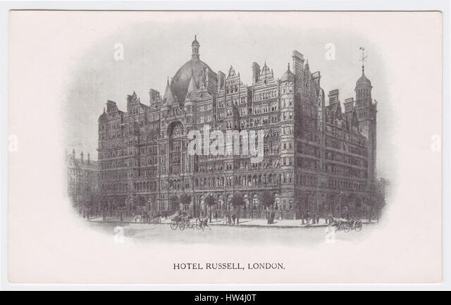 Hotel Russell, London, United Kingdom - Stock Image